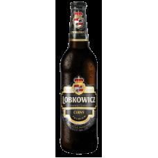 Пиво Лобковиц Дарк темное фильтр. пастериз. 0,5x20 бут. 4,7% / Lobkowicz Dark / Чехия