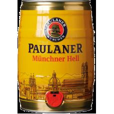 Пиво Пауланер Мюнхенское свет.4,4% 5 л. (БОЧКА)