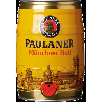 Пиво Пауланер Мюнхенское свет.4,9% 5 л. (БОЧКА)
