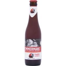Пивной напиток Тиммерманс Строуберри Ламбикус светлый фильтр. пастериз. 4,0 % 0,33 л. х 12 ст.бут. / Timmermans Strawberry Lambicus