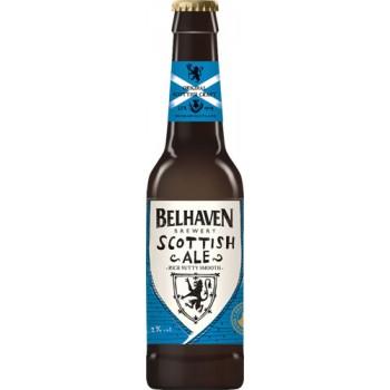Пиво Белхеван Скоттиш Эль темное фильтров. пастериз. 0,33 л. х 12ст.бут. 5,2 % / Belhaven Scottish Ale