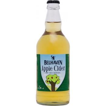 Сидр Belhaven apple cider dry (Белхеван яблочный полусухой) 0,5 л х 12 ст.бут. 5,0 %