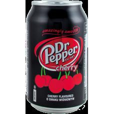 Напиток б/алк Доктор Пеппер Черри 0,33 x 24!!! ж/б / Dr. Pepper