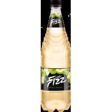 Сидр особый газированный ФИЗЗ Яблочный вкус 4,5 % 1,0 л. x 12 ПЭТ, Лидское