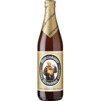 Пиво Францисканер Хефе Вайсбир 0.5х20 ст.буталк. 5,0%/Franziskaner Weiss