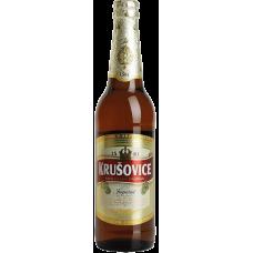 Пиво Крушовице Империал светлое 5% 0,5 x 20 ст.бут /Krusovice Imperial