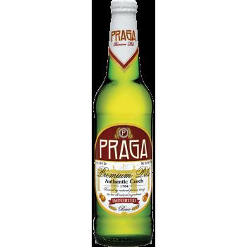 Пиво Прага Премиум Пилс 4,7% 0,5 x 20 ст.бут /Praga Premium Pils, Чехия.