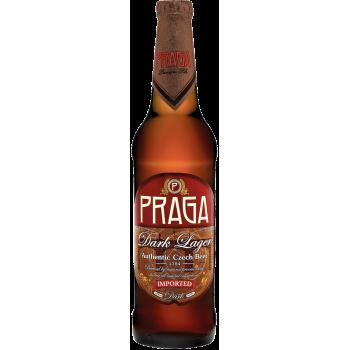 Пиво Прага Дарк тёмное 4,5% 0,5 x 20 ст.бут /Praga Dark, Чехия.