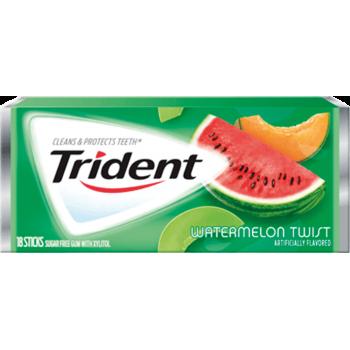 Жев. резинка Trident Watermelon Twist 1 x 12 шт. (блок) / США