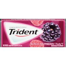 Жев. резинка Trident Black RaspberryTwist 1 x 12 шт. (блок) / США