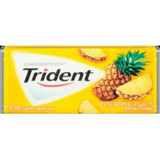 Жев. резинка Trident Pineapple Twist 1 x 12 шт. (блок) / США