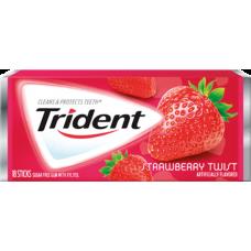 Жев. резинка Trident Strawberry Twist 1 x 12 шт. (блок) / США