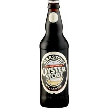 Пиво МАРСТОНС Ойстер Стаут тёмное фильтр. пастериз. 4,5 % 0,5 x 12 ст.бут/ MARSTON`S OYSTER STOUT