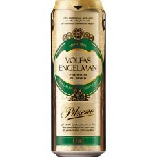 Пиво Volfas Engelman Pilzeno светлое 0,568 л. алк. 4.7%