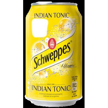 Напиток б/алк Швепс Индиан Тоник / Schweppes INDIAN TONIC/ 0,33 x 24!!! ж/б (Польша)