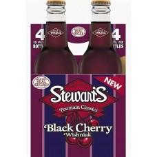 Напиток б/алк Stewart`s Black Cherry 0,355 х 24 стекл.бут (США)