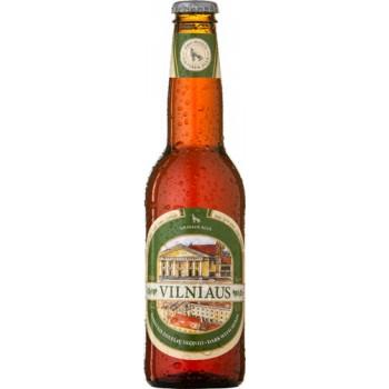 Пиво темное фильтрованное пастеризованное Vilniaus Tamsusis (Вильнюс темное)/ алк. 5,6% 0,33 x 8 cт. бут /Литва