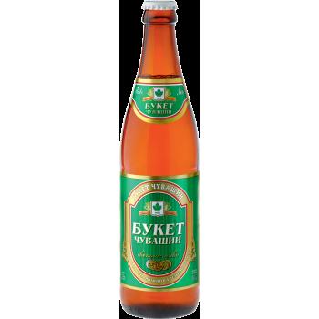 Пиво Букет Чувашии светлое 6,8 % 0,5 л. x 20 ст.бут,