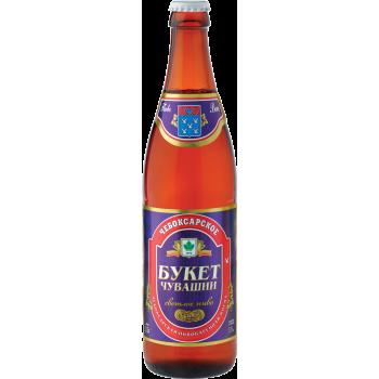 Пиво Чебоксарское светлое 5,1 % 0,5 л. x 20 ст.бут,