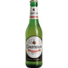 Пиво Клаусталер безалкогольное 0.33 x 24ст. бут/ Clausthaler