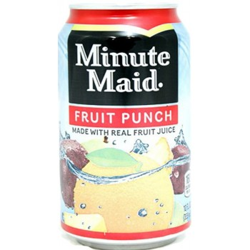 Напиток б/алк Minute Maid Fruit Punch 0,355 x 12 ж/б (США)