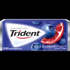 Жев. резинка Trident Wild Blueberry Twist 1 x 12 шт. (блок) / США