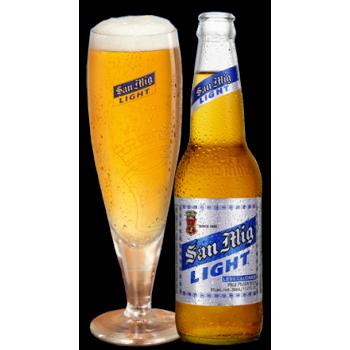 Пиво SAN MIG LIGHT/ САН МИГ ЛАЙТ светлое фильтрованное 0,33x24 бут. 5.0%