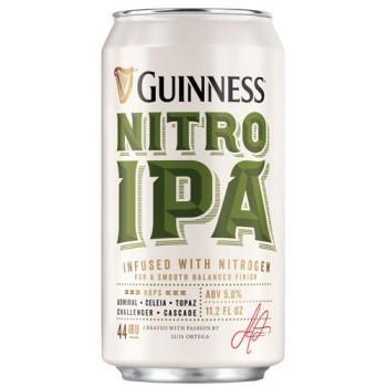 Пиво Гиннесс Нитро ИПА 5,3% 0,44 x 24 ж/банка/ Guinness Nitro IPA