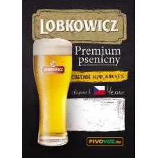 Пиво Лобковиц Пшеничный светлое нефильтр. пастериз. 30л / ПЭТ-КЕГ тип S/ 4,5% / Lobkowicz Premium Psenicny/ Чехия