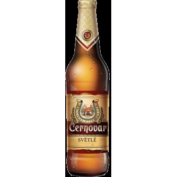 Пиво Черновар светлое 4,9% 0,5 х 20 бут. / Cernovar, Чехия.