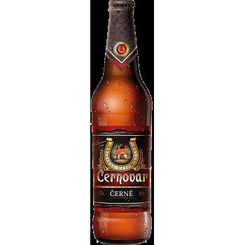 Пиво Черновар темное 4,5% 0,5 х 20 бут. / Cernovar, Чехия.