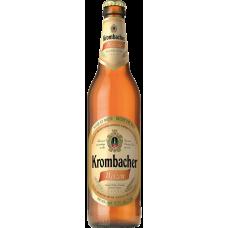 Пиво Кромбахер Вайцен светлое пшен. н/ф 5,3% 0,5 x 12 бут./Krombacher Weizen, Германия.