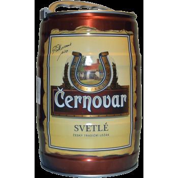 Пиво Черновар светлое 4,9 % БОЧКА 5 л.
