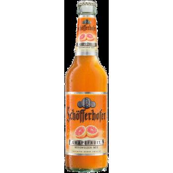 Пивной напиток Шоферхофер Грейпфрут нефильтр. 0,33 x 24 бут. алк. 2,5 % /Schofferhofer Grapefruit/Германия