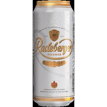 Пиво Радебергер Пилснер светл. 0,5 x 24 БАНКА алк.4,8%/ Radeberger Pilsner