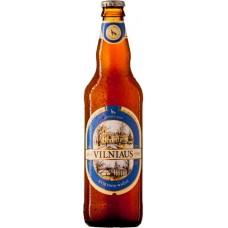 Пиво Vilniaus Kvietinis (Вильнюс Пшеничное ) светлое пшеничное нефильтрованное пастеризованное 0,5 л x 8 cт.бут.