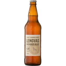 Пиво Vilniaus Vasaros alus (Вильнюс Легкое летнее ) светлое алк. 4.8% 0,5 x 8 cт. бут /Литва