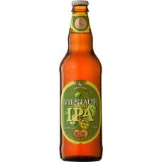 Пиво светлое пастеризованное фильтрованное Vilniaus IPA (Вильнюс ИПА)/ алк. 6,3% 0,5 x 8 cт. бут /Литва