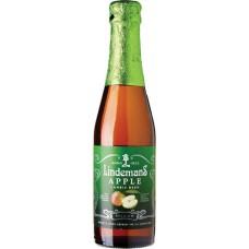 Пивной напиток Линдеманс Эпл (Яблоко) 0,25 л. х 24 ст.бут. алк.3,5 % /Lindemans Apple