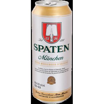 Пиво Шпатен 0.5х24 (БАНКА) /Spaten алк.5,2%