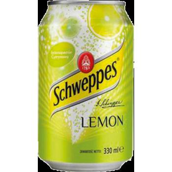 Напиток б/алк Швепс Лимон 0,33 x 24!!! ж/б