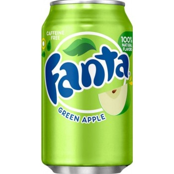 Напиток б/алк. =ЗЕЛЕНОЕ ЯБЛОКО=/Green Apple/ 0,355 х 12 ж/б / Fanta Apple, США.