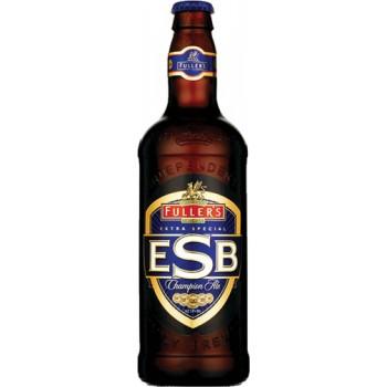 Пиво Фуллерс ЭКСТРА СПЕШЛ БИТТЕР тёмное фильтр пастер 5,9 % 0,5 x 12 ст.бут/ FULLERS ESB