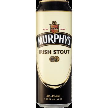 Пиво Мерфис Айриш Стаут 0,5 л. х 24 алк.4,0% / Murphys Irish Stout