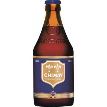 Пиво Шимэ Блу Кап 0,33 л. х 24 ст.бут. алк. 9% / Chimay Blue Cap