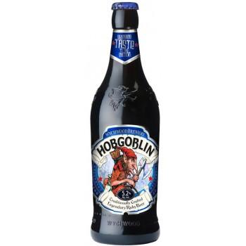 Пиво Вичвуд Хобгоблин тёмное 5,2 % 0,5 x 8 бут./Hobgoblin