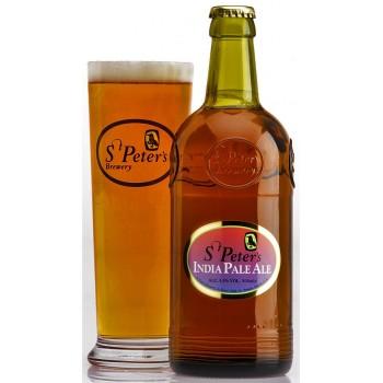 """Пиво светлое, фильтрованное, пастеризованное St.Peter`s """"India Pale Ale"""" алк.5,5% 0,5*8 ст.бут/Соединённое Королевство"""