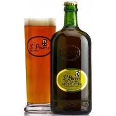 """Пиво светлое, фильтрованное, пастеризованное St.Peter`s """"Best Bitter"""" алк.3.7% 0,5*8 ст.бут/Соединённое Королевство"""