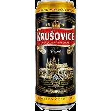 Пиво Крушовице Тёмное 3,8% 0,5 x 24 (БАНКА) /Krusovice Cerne