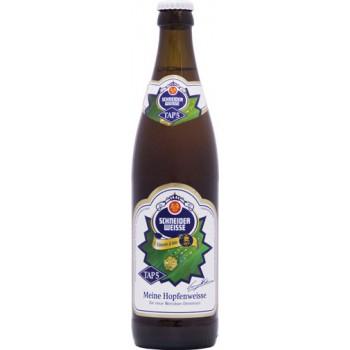 Пиво Schneider Weisse TAP 5 Mein Hopfenweisse (Шнайдер Вайс ТАП 5 Майне Хопфенвайсс) светлое непастер нефильтр 0,5x20 бут.